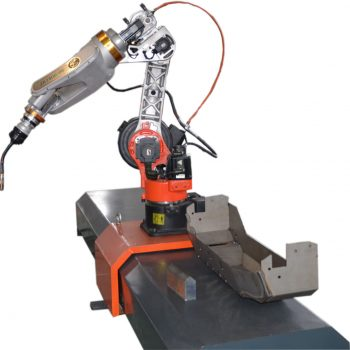 The 7th axis of robot