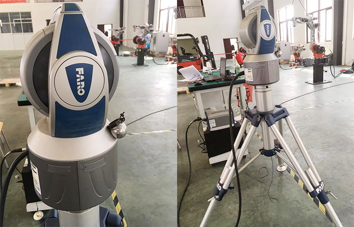 laser tracking instrument FARO USA from welding robot manufacturers